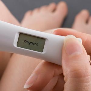 Andreia Trigo - Pregnancy test